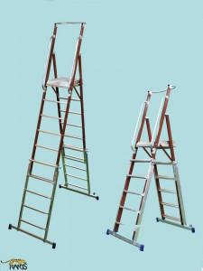 Scara platforma , electroizolanta, fibra sticla, inaltimea reglabila, tip SMIRE