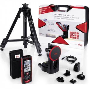 Set complet Leica Disto D810 touch Telemetru cu laser, 30 m