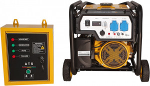 Stager FD 3000E+ATS generator open-frame 2.5kW, monofazat, benzina, automatizare