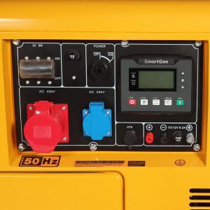 Stager YDE7000TD3 Generator insonorizat diesel trifazat 5.2kVA, 8A, 3000rpm