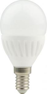 Bec LED sferic cu baza din ceramica model G45