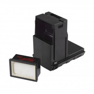 Cutie pentru praf M18 și M28 cu filtru și cutie pentru filtru, pachet 4 buc
