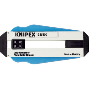 Dezizolator pentru cabluri din fibra optica, KNIPEX, Ø de 0.125 mm