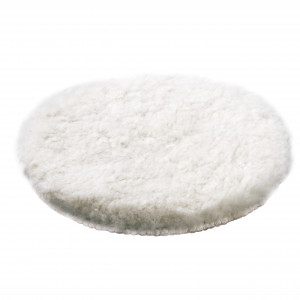 Disc șlefuire din lână de miel 150 mm. Finisaj prin șlefuire cu luciu superior