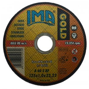 Disc taiat metal/inox IMA GOLD