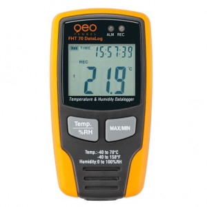 FHT 70 DataLog Termometru, umidometru, masurare continua