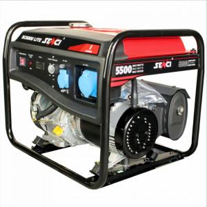 Generator curent SC-6000 LITE, Putere max. 5.5 kW, 230V, AVR, motor benzina
