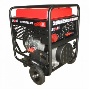 Generator SC18000-ATS, Putere max. 17 kW, 230V, AVR, motor benzina