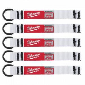 Maner Quick-Connect Milwaukee pentru unelte pana la 2.25 kg, set 5buc, culoare Alb