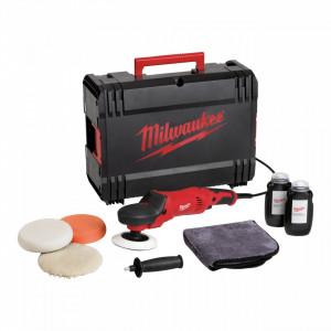Masina de polisat 220 V Milwaukee AP 14-2 200 E SET, 1450 W, disc 200 mm, valiza si accesorii, alimentare Retea 220-240 V