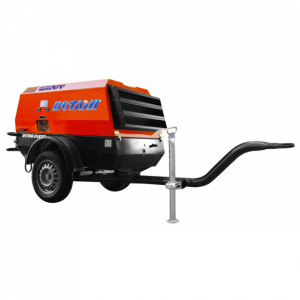 Motocompresor ROTAIR MDVN 37 K, debit 3600 litri/min, motor Kubota