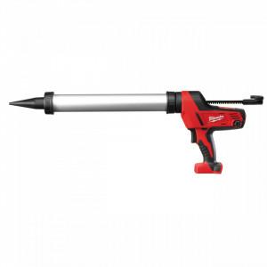 Pistol de silicon tub 600 ml aluminiu Milwaukee C18 PCG/600A-0B, livrat fara acumulator, cu geanta