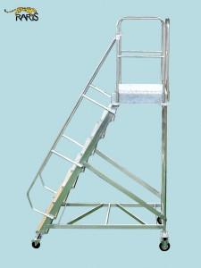 Platforma , mobila, la 60 0 , baza rigidizata, roti cu frana, incarcare max.:300 kg, tip PN60