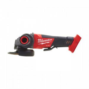 Polizor unghiular 125 mm cu comutator tip clapetă fără funcție de blocare M18 FUEL™ Milwaukee M18 CAG125XPD-0, alimentare Cu acumulator - neechipat