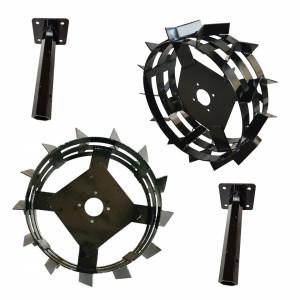 ProGARDEN set roti metalice 550x180, manicot cu flanse, hex 32mm