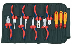 Rol scule KNIPEX, 11 piese
