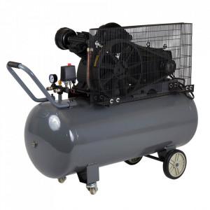 Stager HMV0.6/200 compresor aer, 200L, 8bar, 600L/min, trifazat, angrenare curea