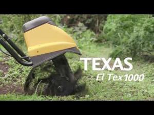 Texas El-Tex 1000, Cultivator electric pentru solarii, gradini, 1000W, 230V, latime lucru 36cm, adancime lucru 20cm