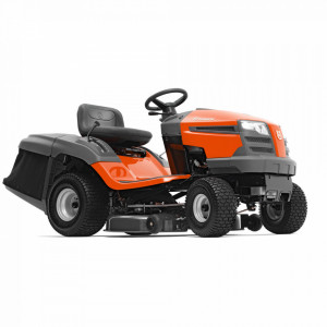 Tractor tuns gazon Husqvarna TC 138L, alimentare Motor termic