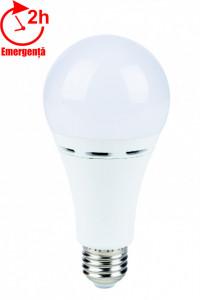 Bec LED emergenta model glob A70 10W=85W 750Lm 6400k lumina rece