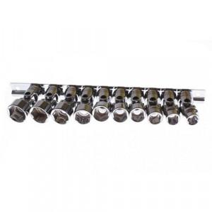 Cap cheie tubulara flexibil 3/8 10-19mm set 10 buc