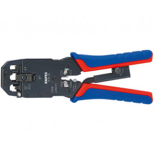Cleste pentru sertizat mufe RJ 10/11/12/45, KNIPEX, 200 mm