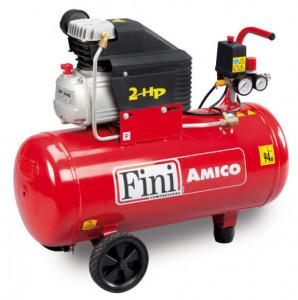 Compresor FINI Amico 50/2400, monofazat, debit 100 litri/min, butelie 50 litri