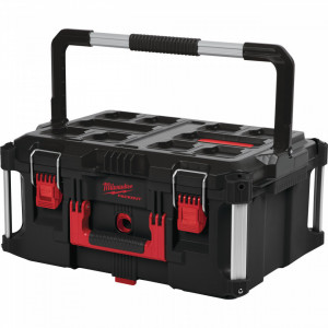 Cutie mare Milwaukee PACKOUT 4932464079, 560 x 410 x 290mm, 45 kg capacitate, IP65