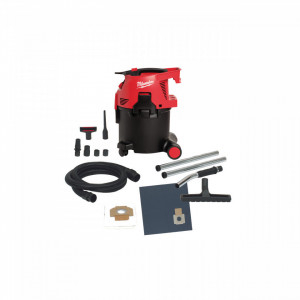 Extractor praf 30 l, clasa L - curățare ușoară a filtrelor Milwaukee, alimentare Retea 220-240 V