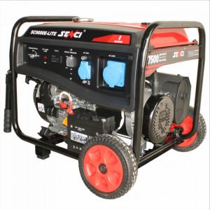 Generator curent SC-9000 E-LITE, Putere max. 7.5 kW, 230V, AVR, motor benzina