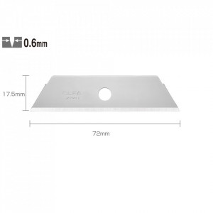 Lame trapezoidale tip SKB-2/50B - set 50 bucati
