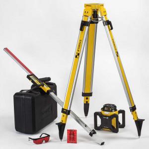 LAR 160 orizontal, vertical, Set cu trepied si rigla de 2,4 m nivela laser rotativ