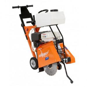 Masina de taiat beton-asfalt CLIPPER CS 401, disc 400 mm, motor Honda 13 CP