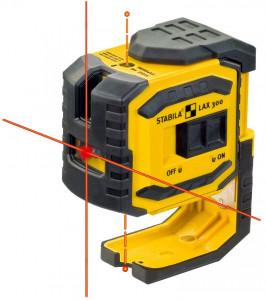 Nivela laser LAX 300 - 2 linii incrucisate si 2 puncte fir cu plumb
