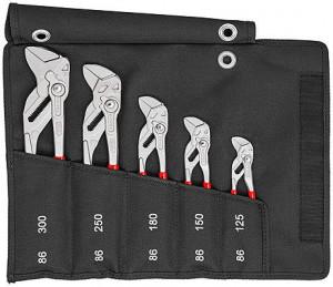 Set chei KNIPEX pentru instalatori, 5 piese