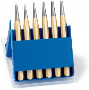 Set standard de perforatoare Rennsteig în cutie de plastic, 6 piese
