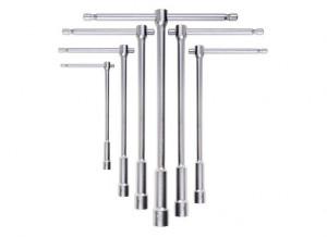 """Set tubulare cu maner culisabil tip """"T"""" 949/S6, 8-10-12-13-14-17mm"""