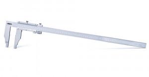 Subler mecanic de exterior-interior, cu reglaj fin, SCALA 0-500 mm, L 670, ACURATETE ± 0.05 mm
