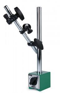 "Suport magnetic pentru ceas comparator, FORTA MAGNETICA 80 kgf, DIAMETRE Ø8 mm, Ø4 mm, 3/8"" DIA,"
