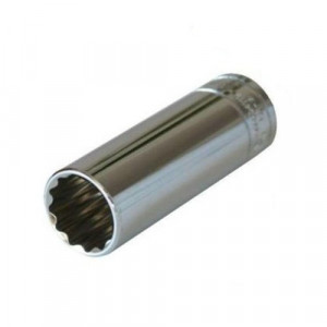 Cap cheie tubulara 1/2 12 laturi prelungit 17mm