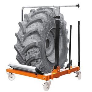 Cric pozitionare roti tractor si excavator 3006