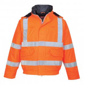 Jacheta de ploaie HiVis Bizflame
