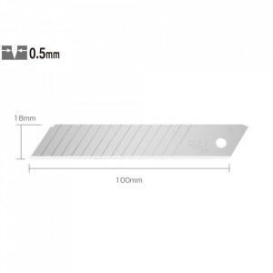Lame de 18 mm tip LBD-10 - set de 10 bucati