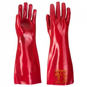 Manusa PVC, marime XL, culoare Roșu
