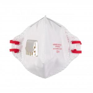 Mască pliabilă FFP2 cu supapă - 15 buc.