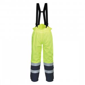 Pantaloni Bizflame Multi Arc HiVis, culoare Galben