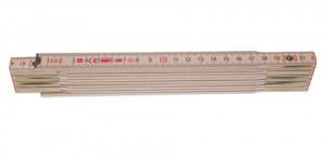 Perfekt 10 N Metru lemn fag 2 m imbinari din otel si nituri vizibile, culoare natur 2 m