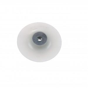 Placă suport flexibilă 125 mm, dotată cu piuliță cu flanșă M14 pentru toate polizoarele unghiulare