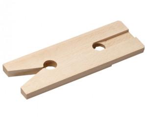 Placa traforare din lemn de fag, L 250, l 65, H 10, GREUTATE 0.068 KG