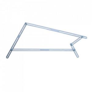 Sablon unghiular pentru trepte 48 sine de aluminiu